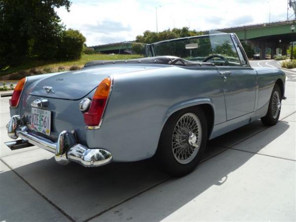 Superchraged 1967 Austin Healey Sprite Rear