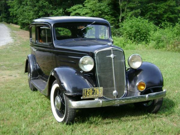 Big claims 1935 chevrolet two door for 1935 dodge 4 door sedan