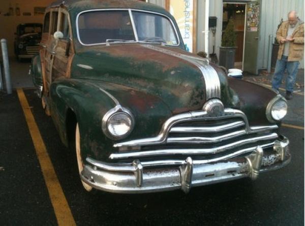 Saviour Needed 1947 Pontiac Streamliner Woody