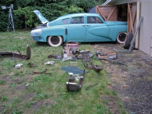 Fifty Year Sleep 1948 Tucker Barn Find