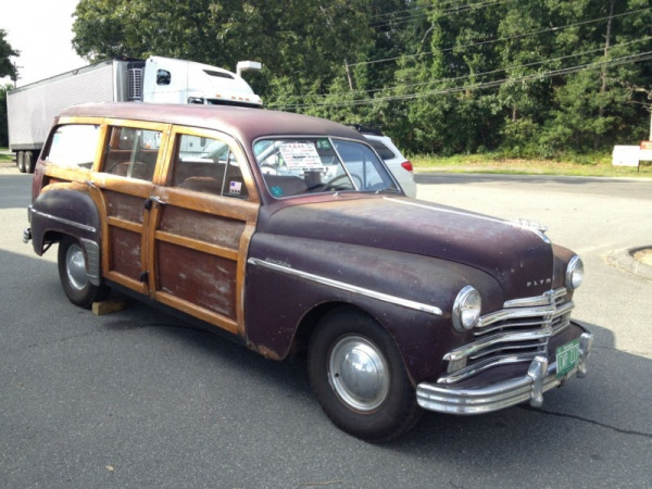 Family Wagon: 1949 Plymouth Deluxe Woody