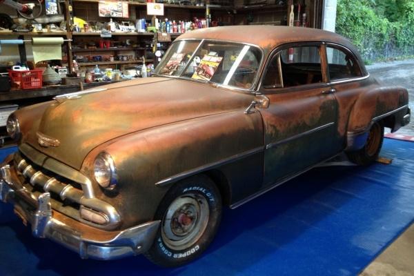 Derelict Dreams: 1952 Chevrolet Deluxe For Sale