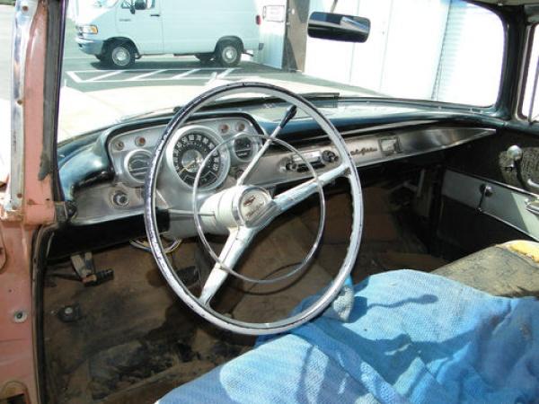 Chevrolet Bel Air Barn Find Interior