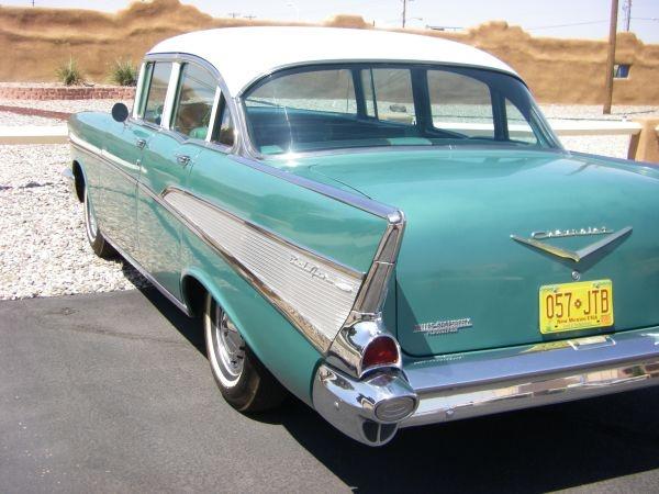 1957-chevy-belair-four-door-survivor-rear