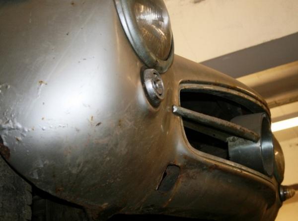 1957 Mercedes-Benz 300SL Gullwing grill