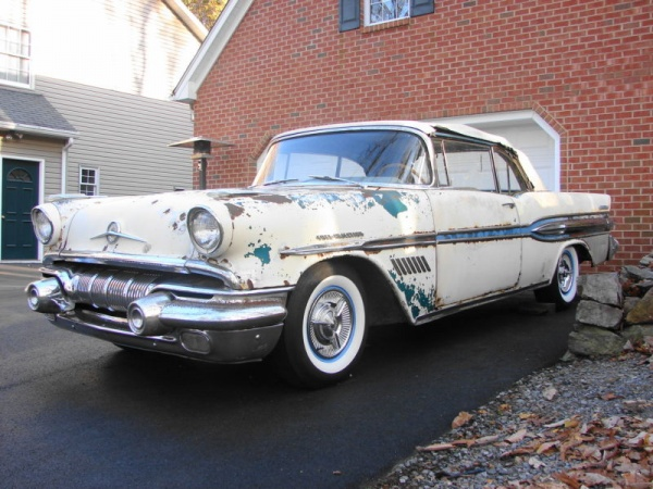 Rare but Rusty: 1957 Pontiac Bonneville