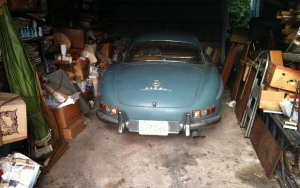 1960 Mercedes Benz 300 Sl Roadster Garage Find