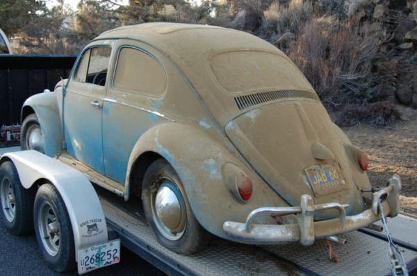Barn Bug 1962 Volkswagen Beetle