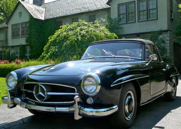 Grandma 39 s 190sl 1962 mercedes 190sl for Mercedes benz tysons corner