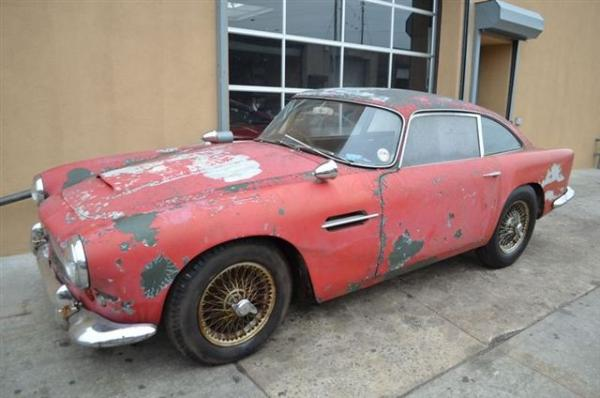 Barn Bond: 1962 Aston Martin DB4