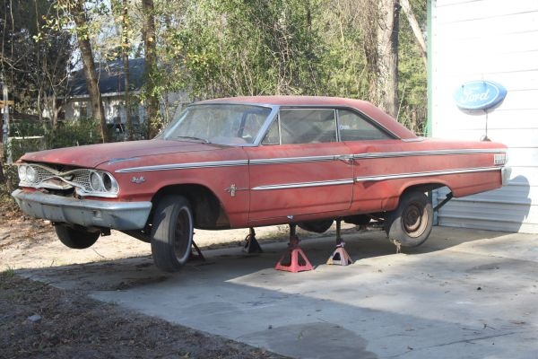 1963 Ford Galaxie Fastback Project