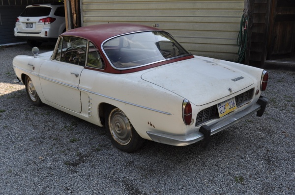 French Barn Find 1963 Renault Caravelle