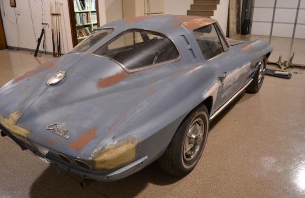 Split window survivor 1963 corvette sting ray for 1963 split window corvette project for sale