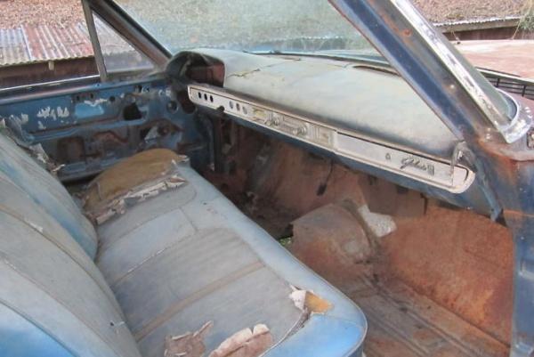 1964-Galaxie-427-interior