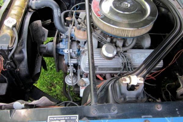 1966-Shelby-GT350-Survivor-engine