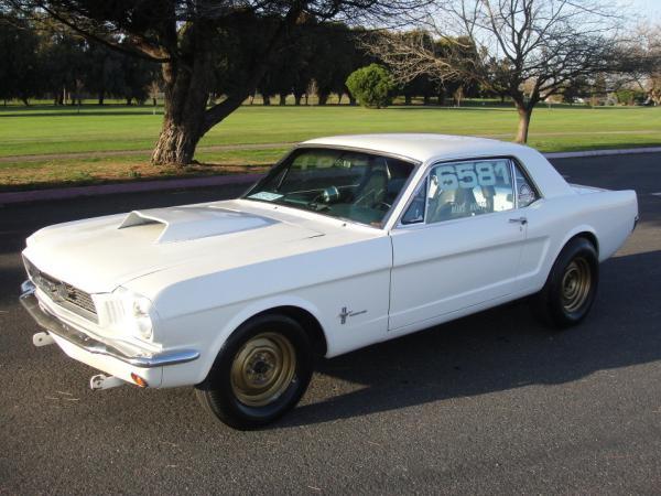 Ex Drag Racer 1966 Ford Mustang