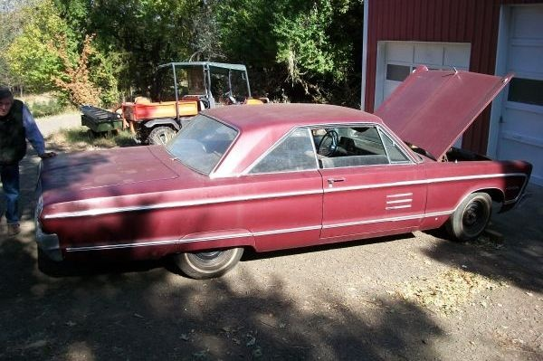 Sleeper Potential 1966 Plymouth Sport Fury