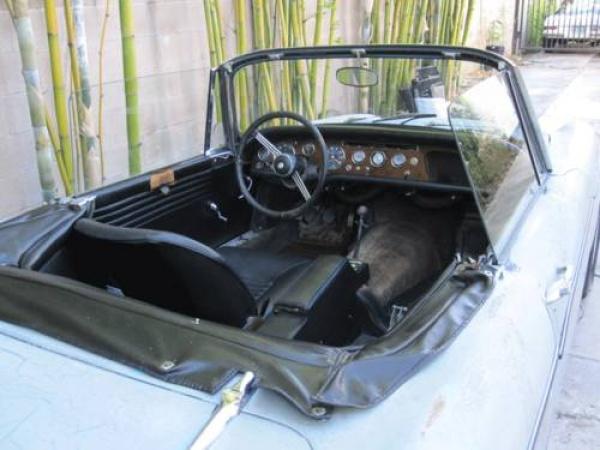 1966 Sunbeam Tiger Project Interior