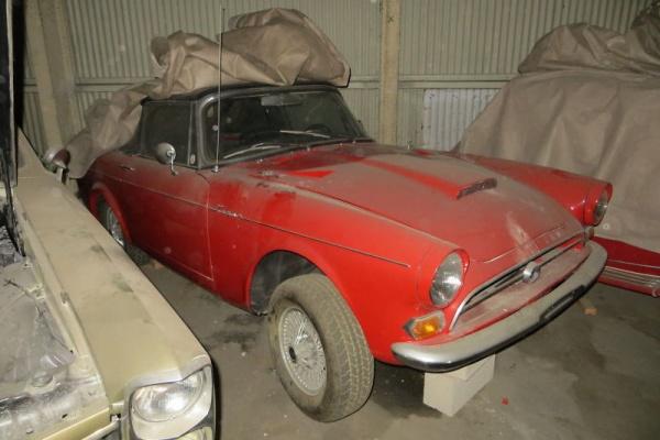 Car Auctions In Maryland >> Cobra Alternative: 1966 Sunbeam Tiger