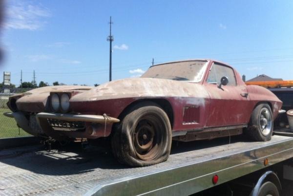 1967 Corvette 427 Project