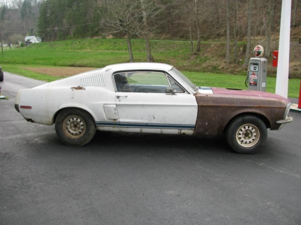 Shelby Sham: 1968 Mustang Fastback