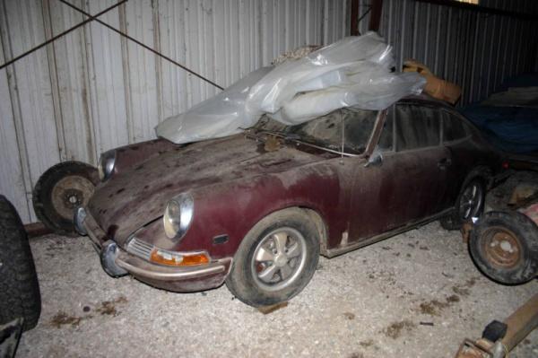 1968 Porsche 912 Barn Find