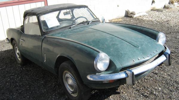 Craigslist In Boise >> Thrift Store Find: 1968 Triumph Spitfire
