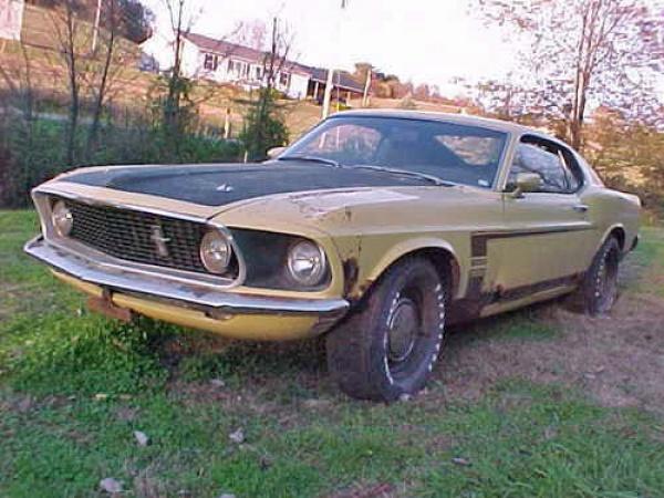 1969 Ford Boss 302 Garage Find