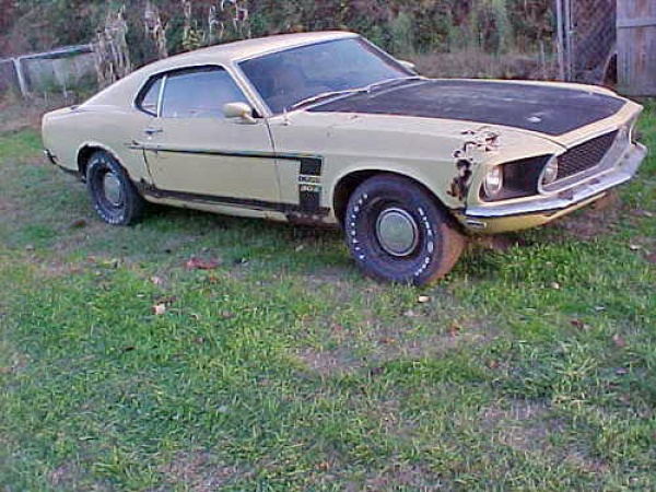 Old Mustang Project Cars For Sale