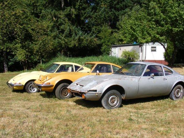 German Triplets 1970 Opel Gt Project