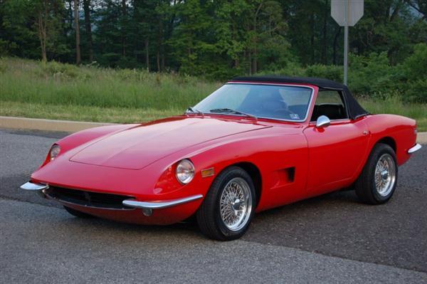 Rare 1970 Intermeccanica Italia