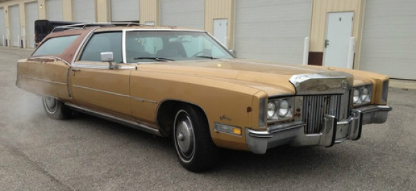 Luxury Wagon 1972 Cadillac Eldorado Estate