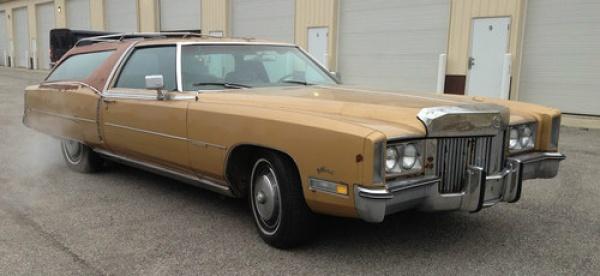 luxury wagon 1972 cadillac eldorado estate. Black Bedroom Furniture Sets. Home Design Ideas