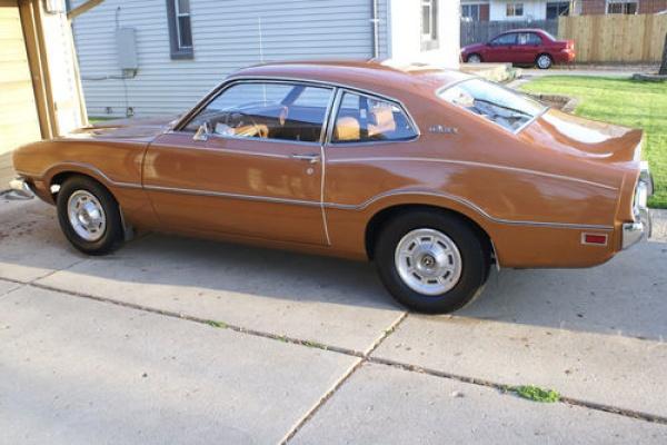 minty mav  1973 ford maverick