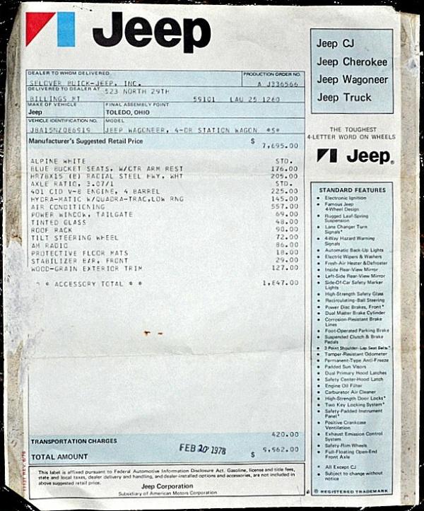 1978-Jeep-Wagoneer-window-sticker