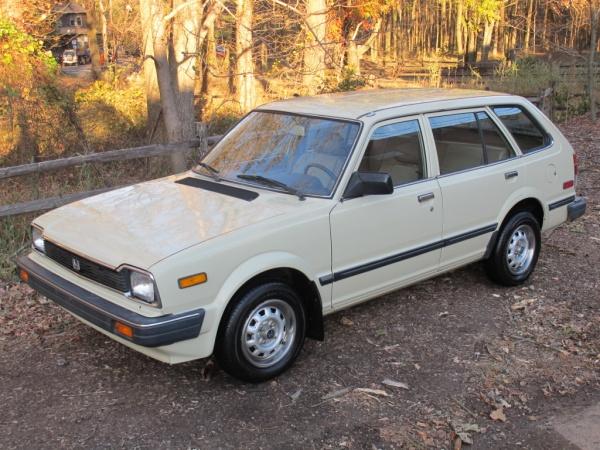 1983 Honda Civic Wagon Survivor