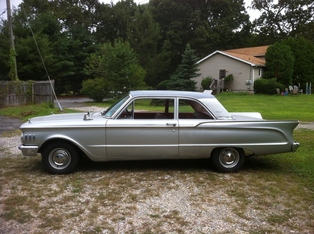 Barn Find Driver: 1961 Comet Coupe