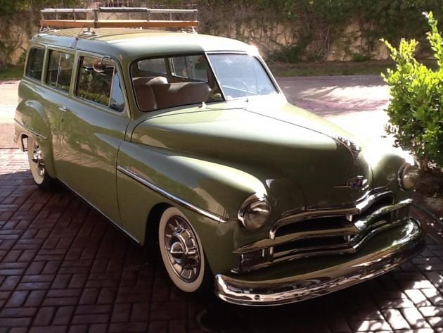 Two Door Wagon 1950 Plymouth Deluxe Suburban