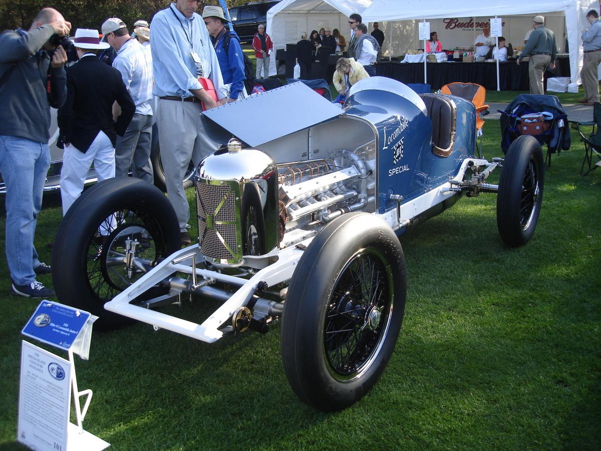 1926 Miller Locomobile