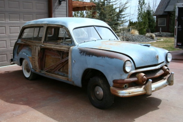 Barn Wood Ford Country Squire