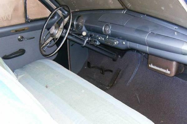 Shoebox Barn Find Interior on 1950 Ford V8 Engine