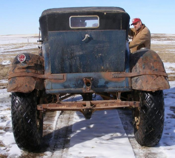 Winter Mail Carrier: 1931 Ford Model A Cabriolet