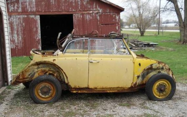 1964 VW Beetle Convertible Project
