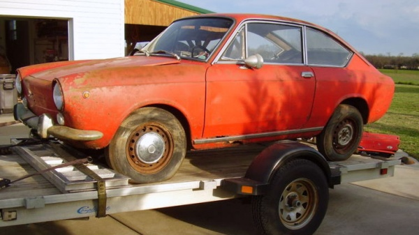 Fiat Coupe Barn Find