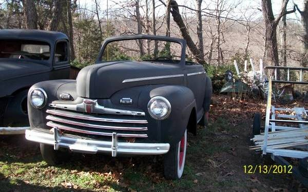 $3,900 1946 Ford Club Convertible Project