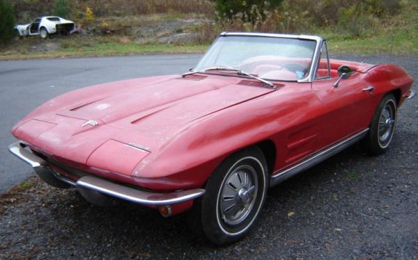 1964-Corvette-Convertible-top-down