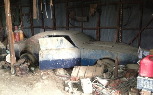 Reader Find 1968 Pontiac Firebird