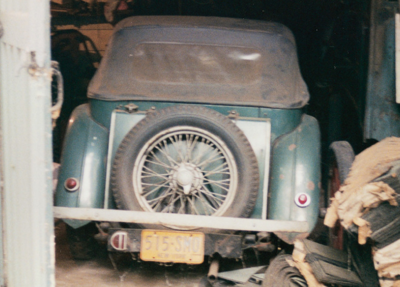 MG in the Barn