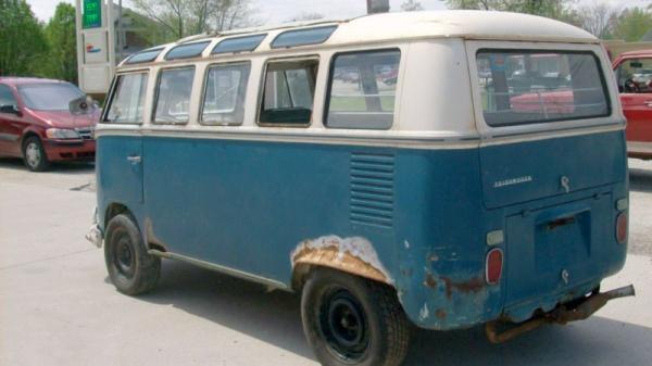 Barn Samba 1967 Vw 21 Window Bus
