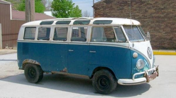 barn samba  vw  window bus